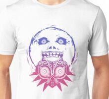 Majoras Mask Moon w/Mask Unisex T-Shirt
