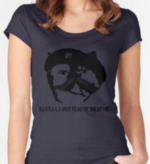 Hasta La Buttercup Siempre Women's Fitted Scoop T-Shirt