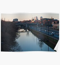 Don River From The Queen Street Bridge Poster