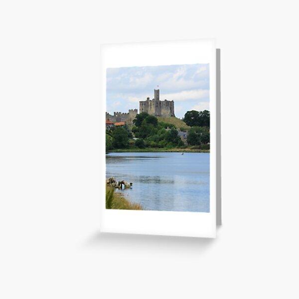 Warkworth Castle Greeting Card
