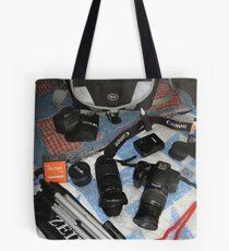 My Camera Equipment Tote Bag