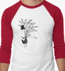 Peacock & Prejudice Men's Baseball ¾ T-Shirt