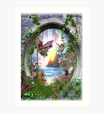 Fairy Kingdom Art Print