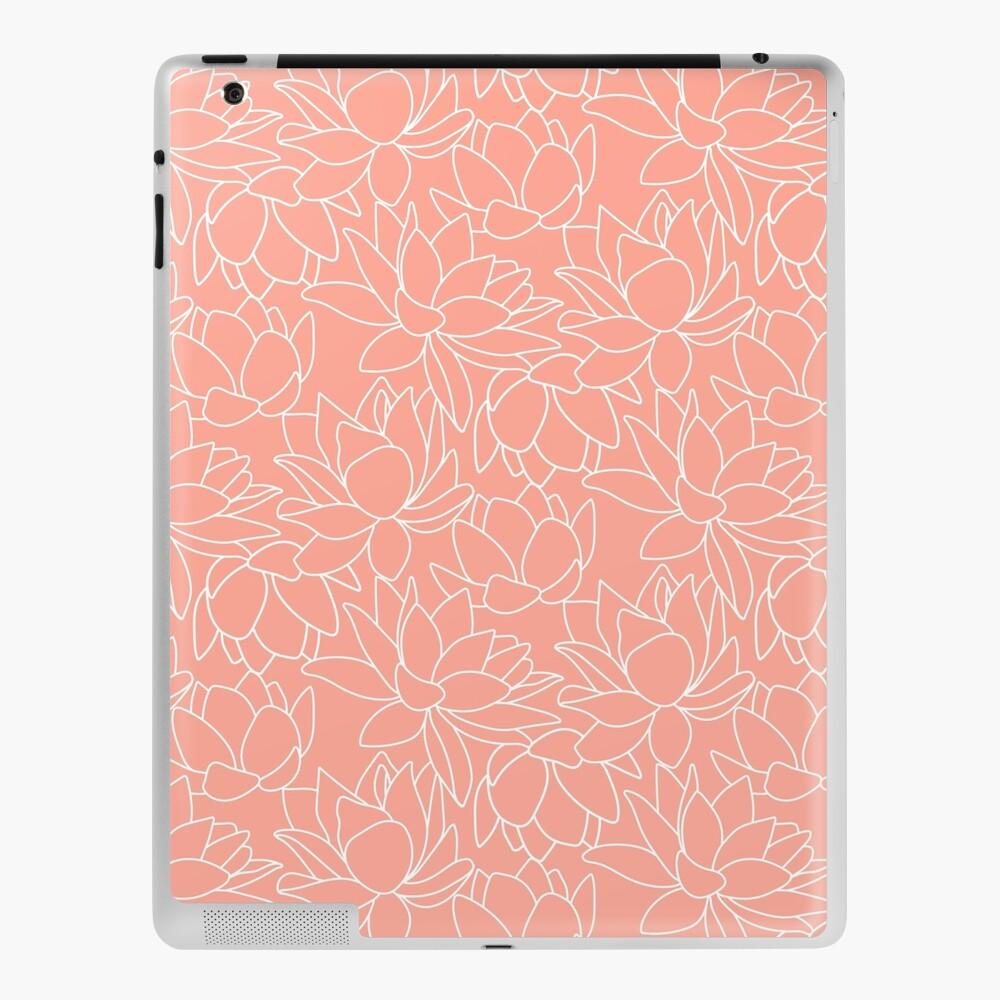 Peach Lotus iPad Case & Skin