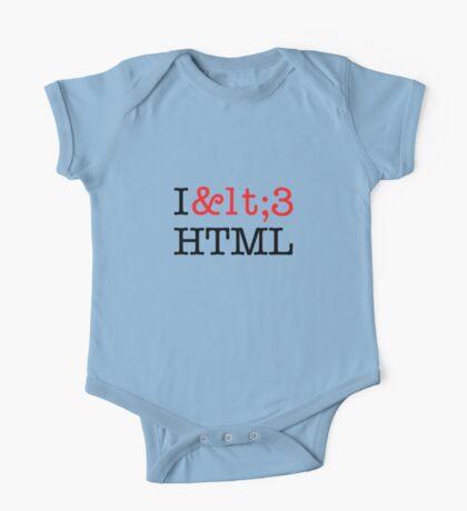 I <3 HTML (light) Kids Clothes
