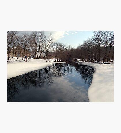 Ice on the Mumford Photographic Print