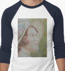 Lady Sybil Men's Baseball ¾ T-Shirt