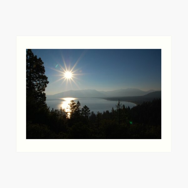 Sunrise at Lake Tahoe Art Print