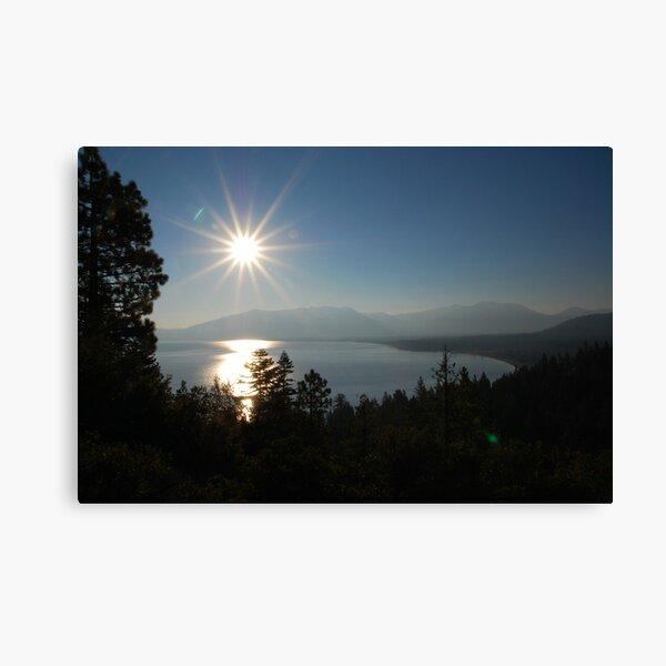 Sunrise at Lake Tahoe Canvas Print