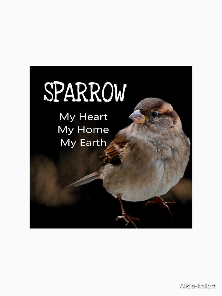 Sparrow Symbolism by Alicia-kellett
