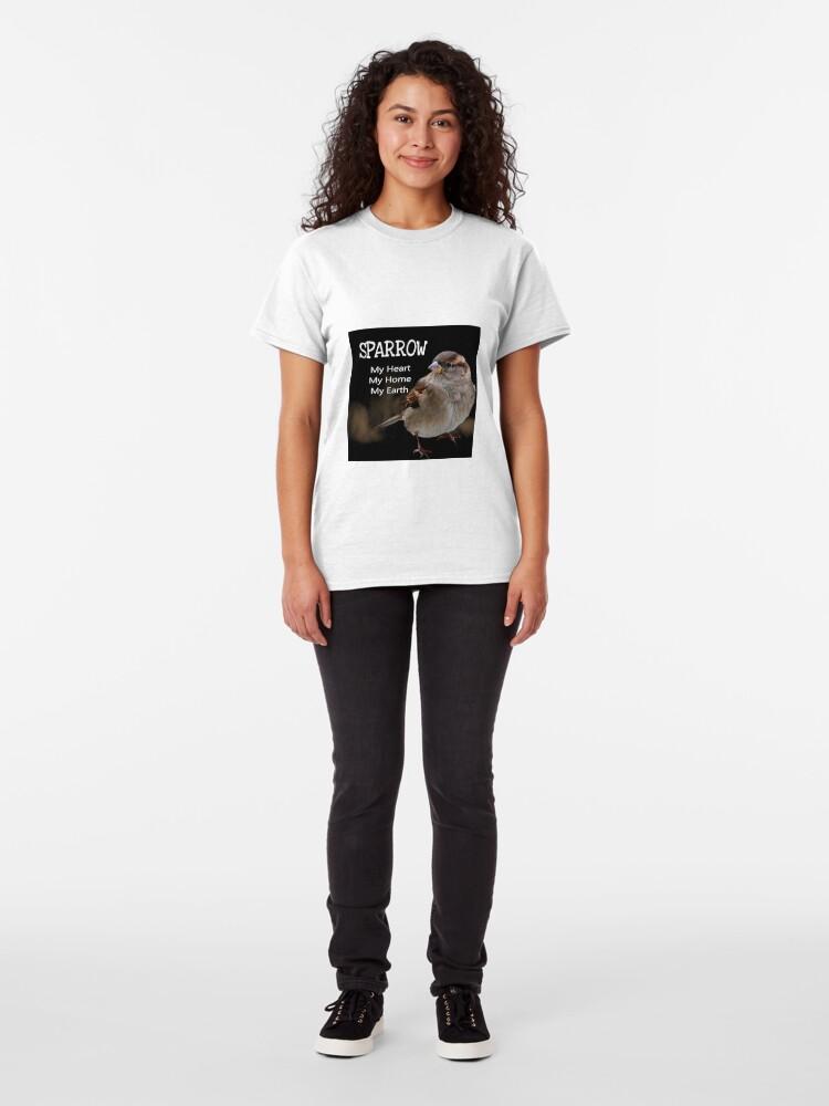 Alternate view of Sparrow Symbolism Classic T-Shirt