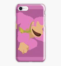 Donkey Kong (Pink) - Super Smash Bros. iPhone Case/Skin