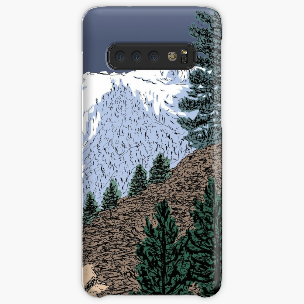 Winter Hike Up Twin Peaks Case & Skin for Samsung Galaxy