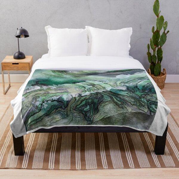 Frigid Landscape 2 Throw Blanket