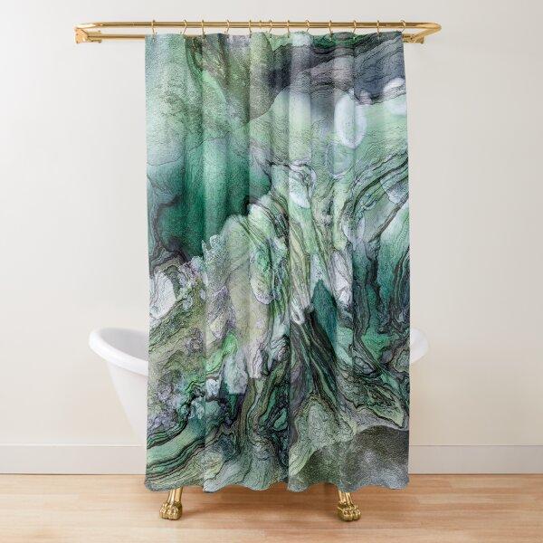 Frigid Landscape 2 Shower Curtain