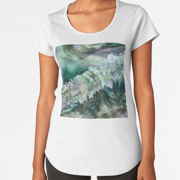 Frigid Landscape 2 Premium Scoop T-Shirt