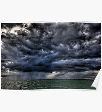 Storm Over The Bay Poster