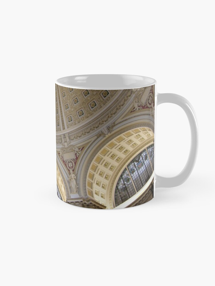 Alternate view of Ceiling of the Library of Congress Reading Room Mug