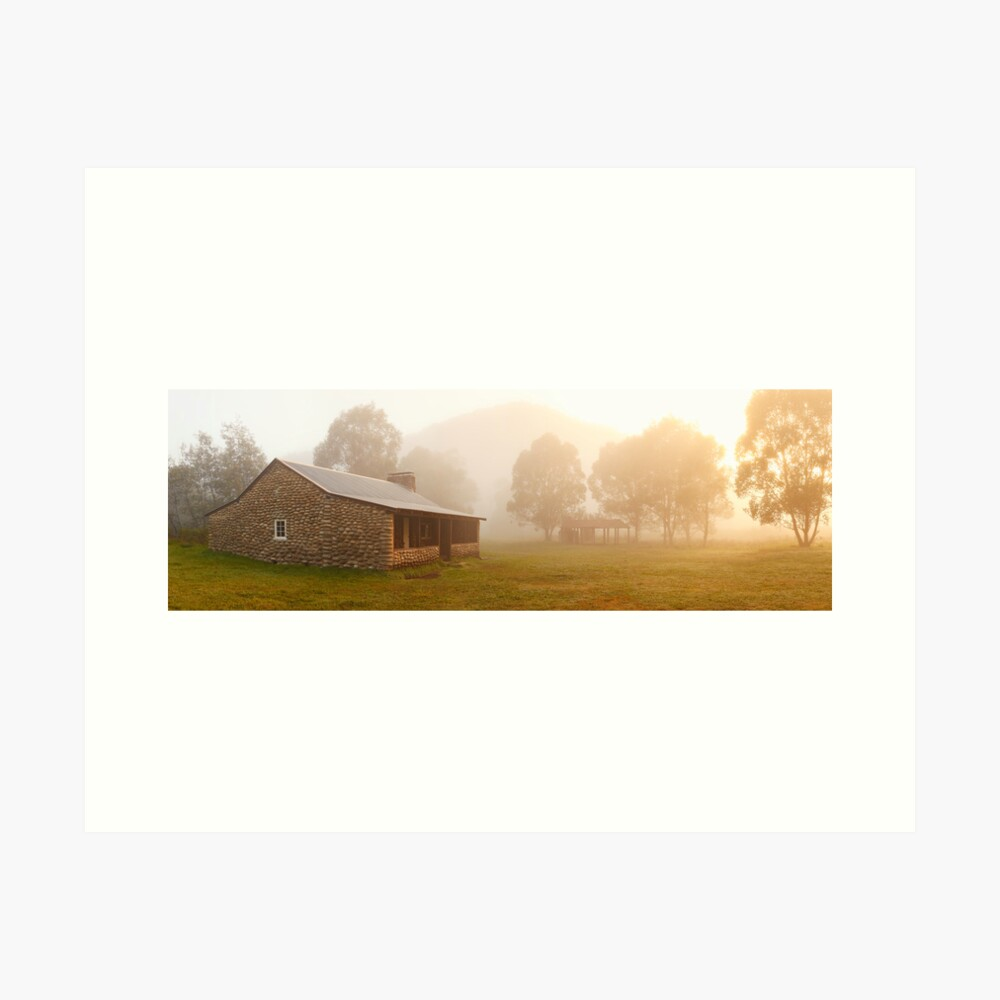 Geehi Hut Dawn, Kosciusko National Park, Australia Art Print
