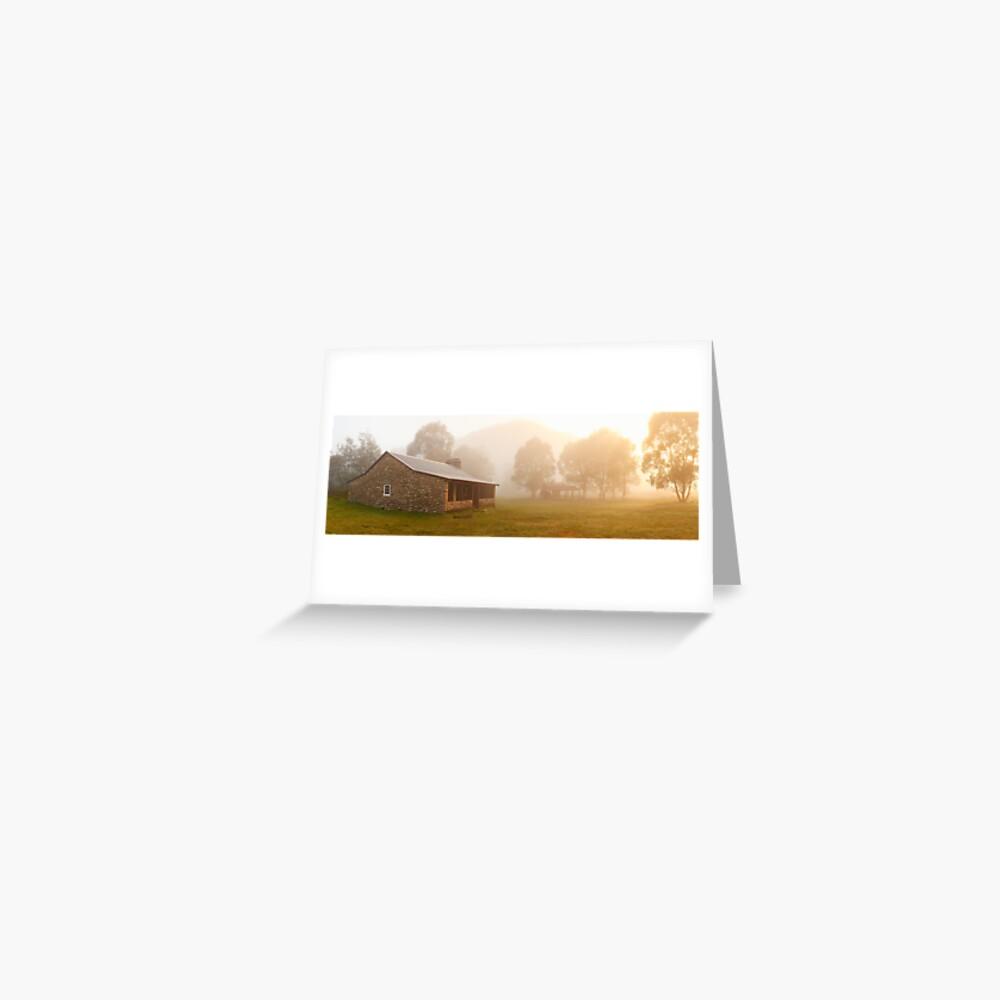 Geehi Hut Dawn, Kosciusko National Park, Australia Greeting Card