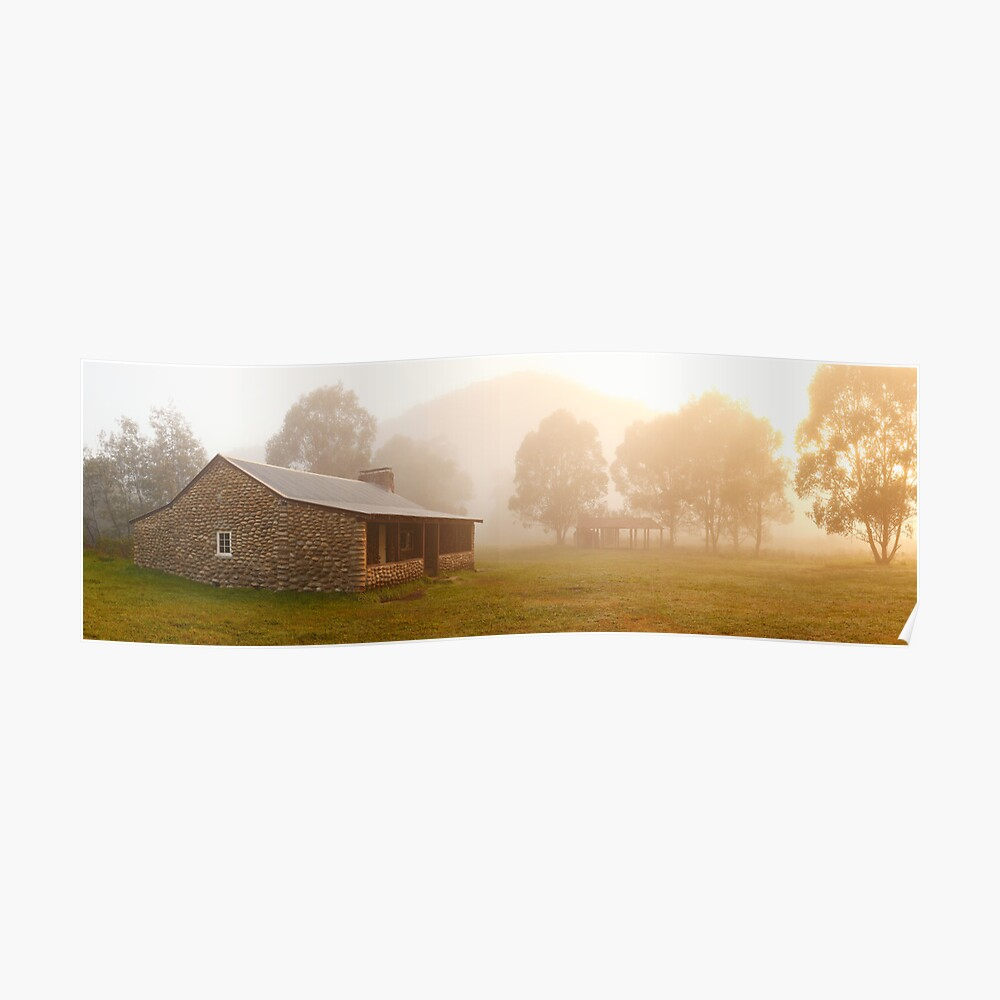 Geehi Hut Dawn, Kosciusko National Park, Australia Poster