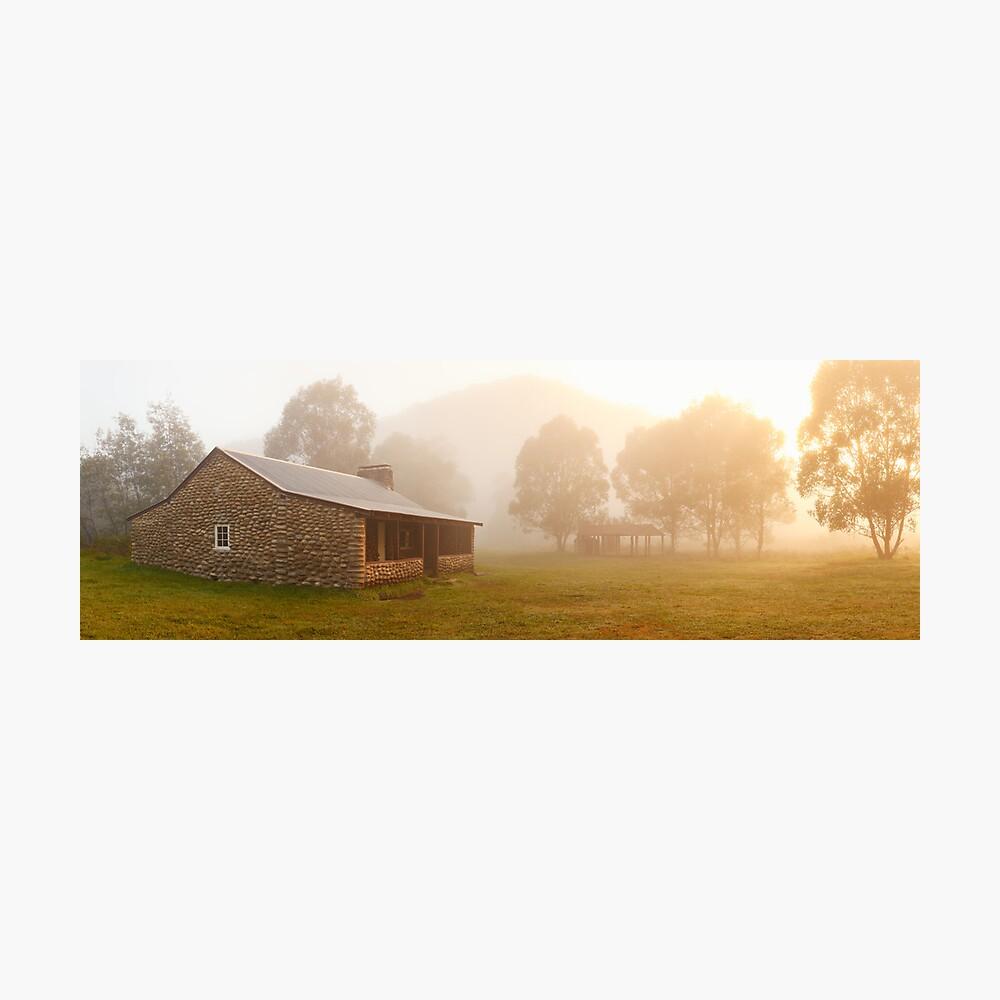 Geehi Hut Dawn, Kosciusko National Park, Australia Photographic Print