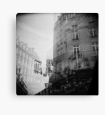 Cafe du Metro Canvas Print