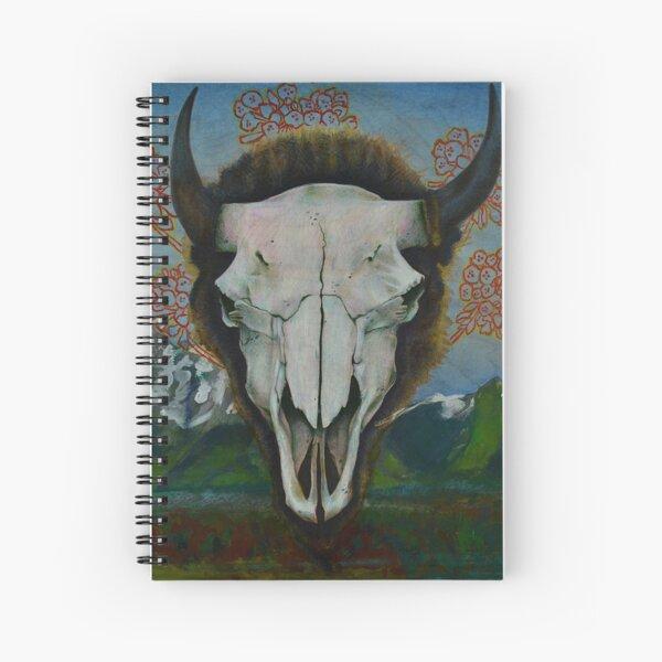 Teton Skull Spiral Notebook