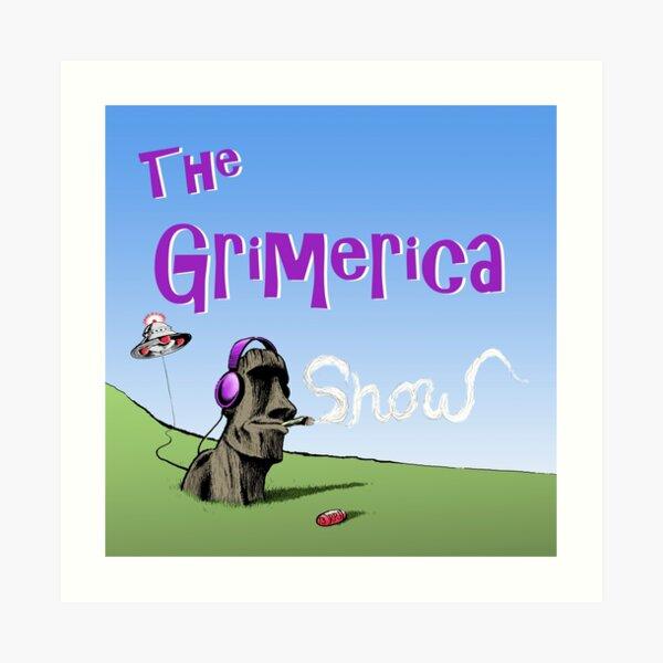 Classic Grimerica Logo  Art Print