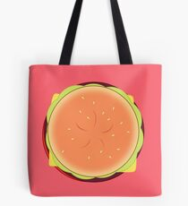 Cheeseburger Backpack Tote Bag