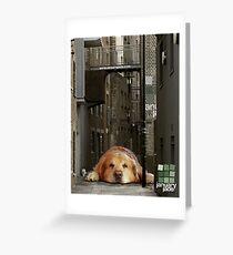 Good Dog. Greeting Card