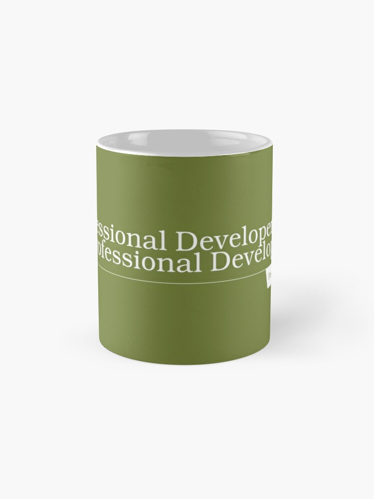 Alternate view of For Professional Developers By Professional Developers - Mug Mug