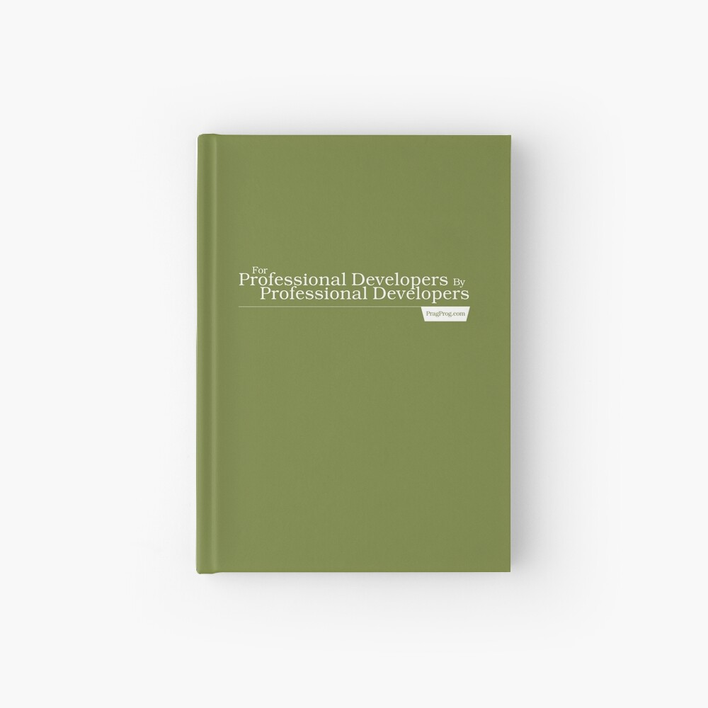 For Professional Developers By Professional Developers - Journal Hardcover Journal