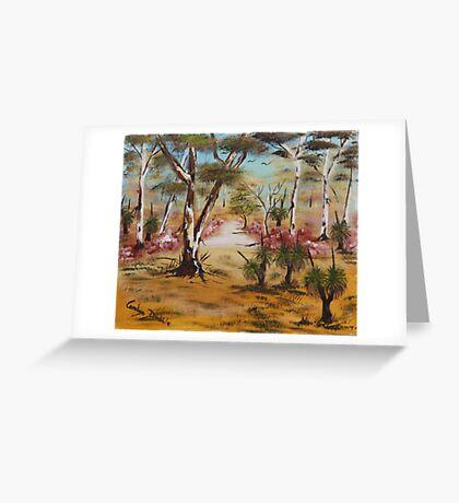Grass Tree Greeting Card