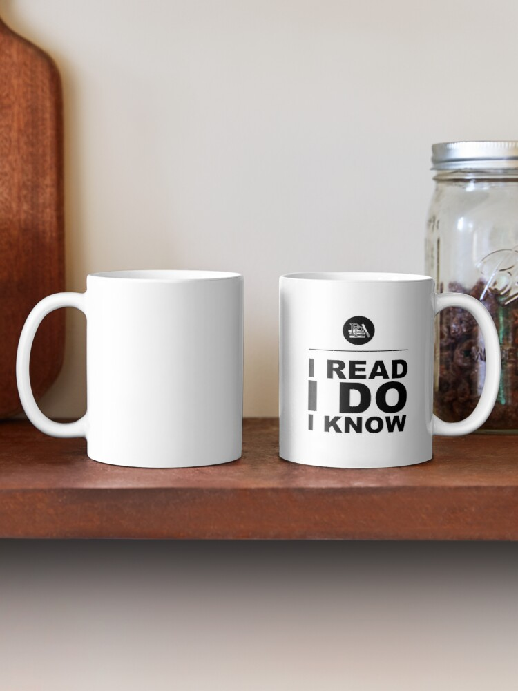 Alternate view of I Read. I Do. I Know. Pragmatic Bookshelf. Mug Mug