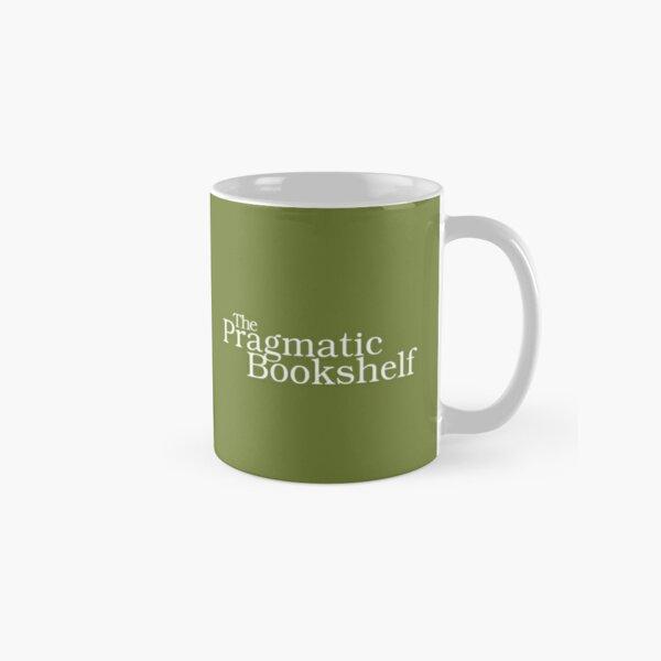 Green and White PragProg Tab Logo - Mug Classic Mug