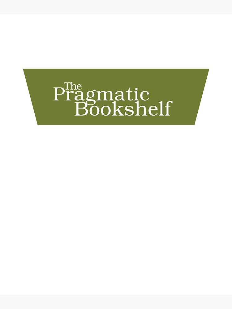 Green and White PragProg Tab Logo - Tote by PragProg