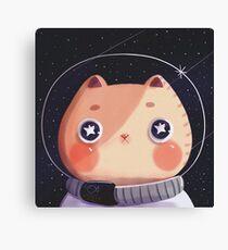 Cat Astro Canvas Print