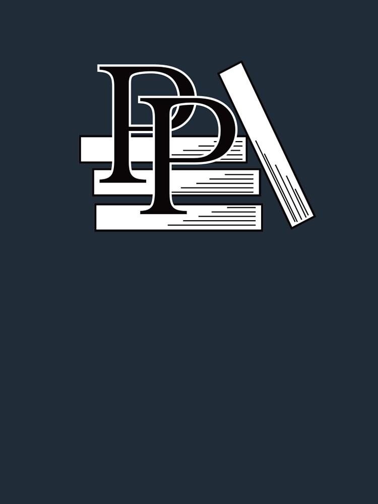 PragProg Books BW Logo - T-Shirt by PragProg