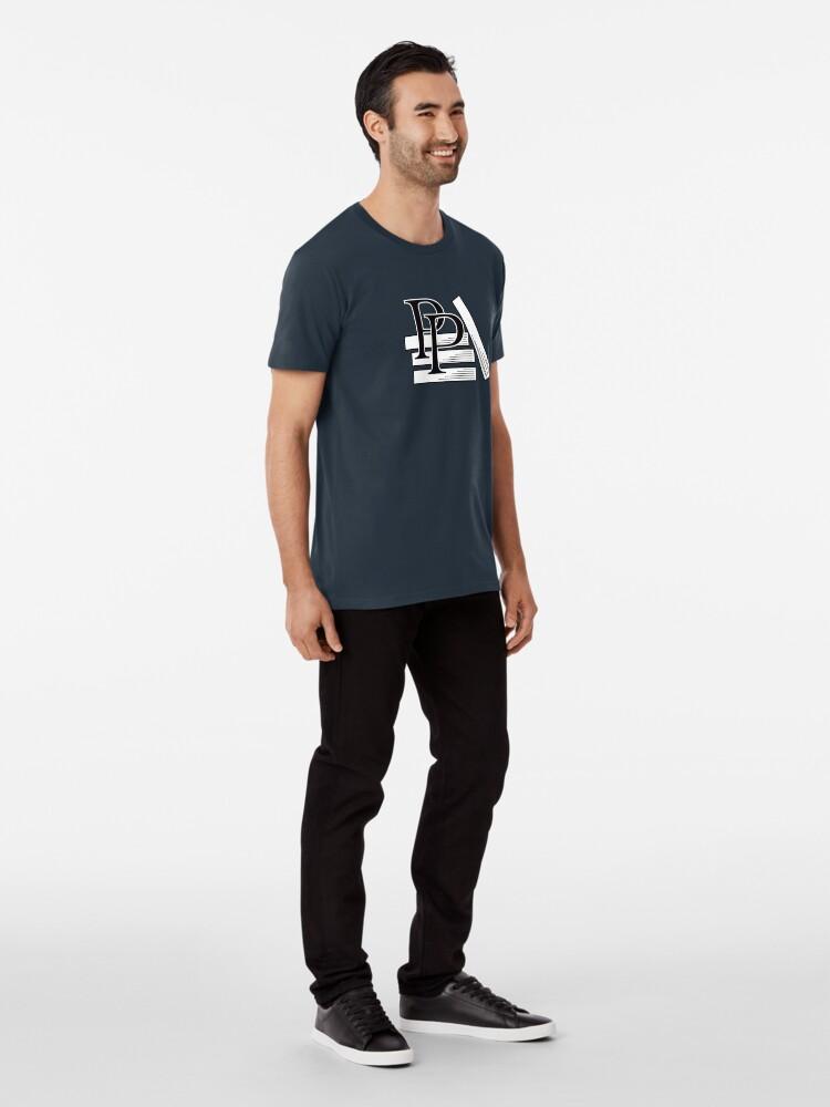 Alternate view of PragProg Books BW Logo - T-Shirt Premium T-Shirt