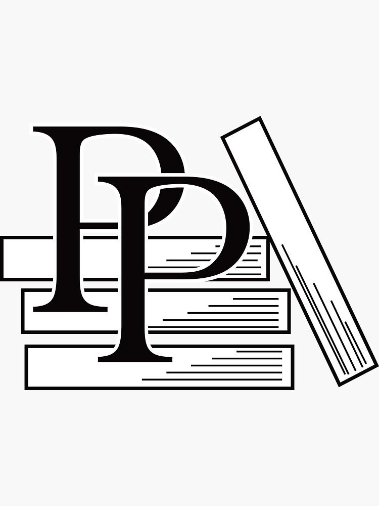 PragProg Books BW Logo - Sticker by PragProg
