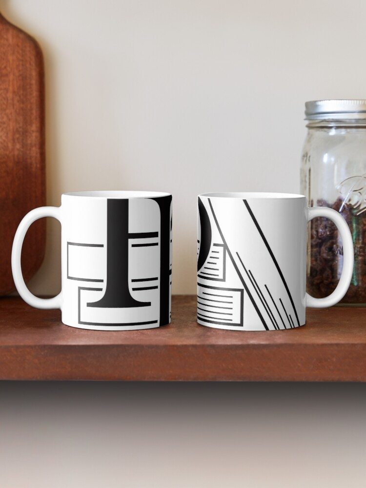 Alternate view of PragProg Books BW Logo - Mug Mug