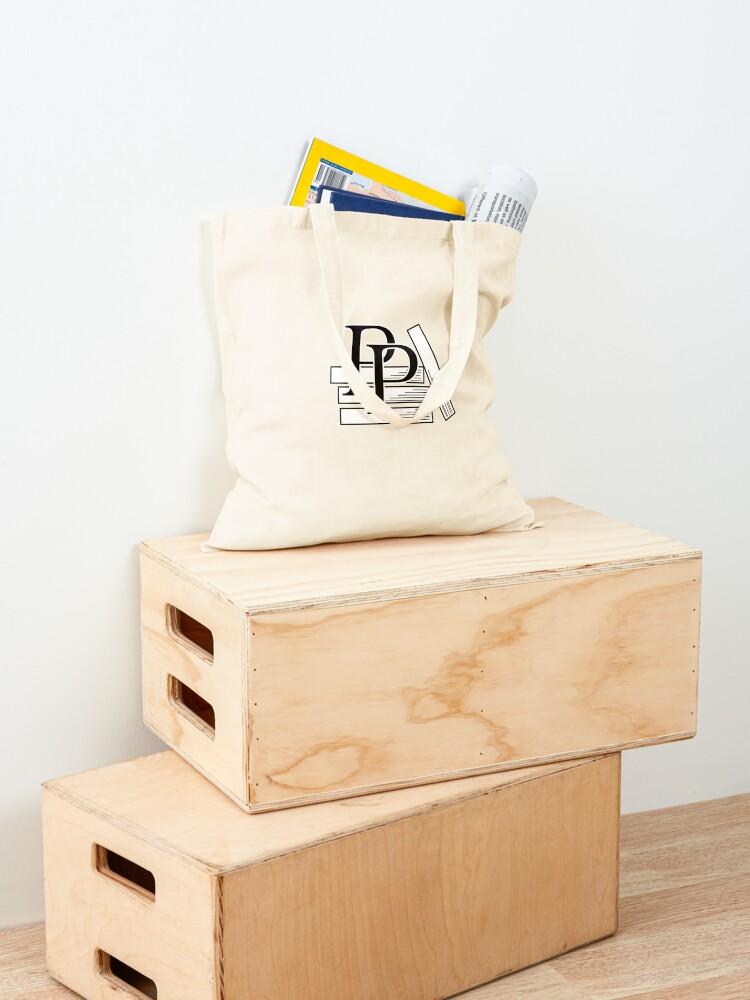 Alternate view of PragProg Books BW Logo - Tote Tote Bag