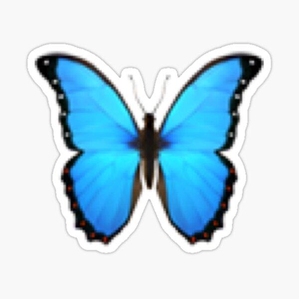 Emoji mariposa Pegatina
