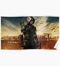 Arrow Season 4 | Green Arrow | Oliver Queen | Stephen Amell Poster