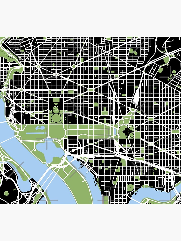 Map of downtown Washington, DC by DC-Confidential