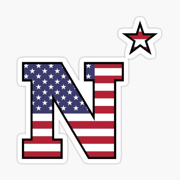 American Flag N* USNA Sticker