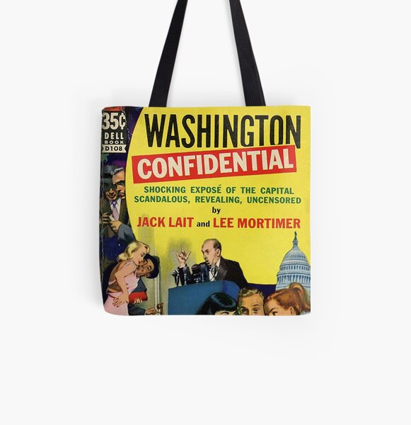Washington Confidential All Over Print Tote Bag