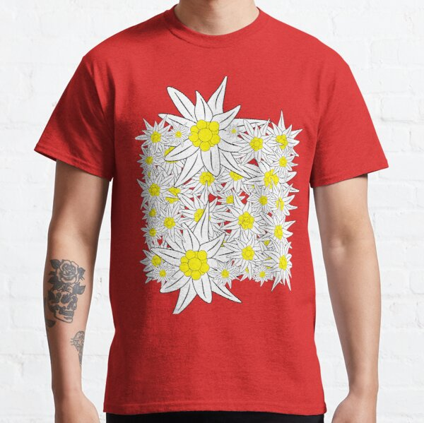Edelweiss pattern Classic T-Shirt