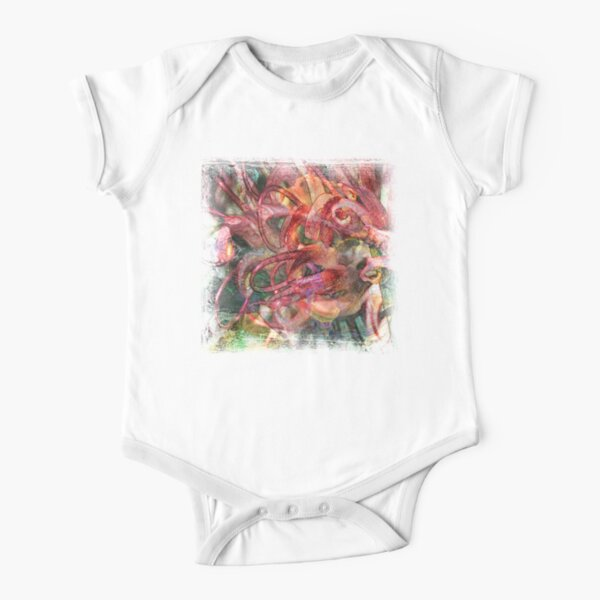 The Atlas Of Dreams - Color Plate 58 Short Sleeve Baby One-Piece